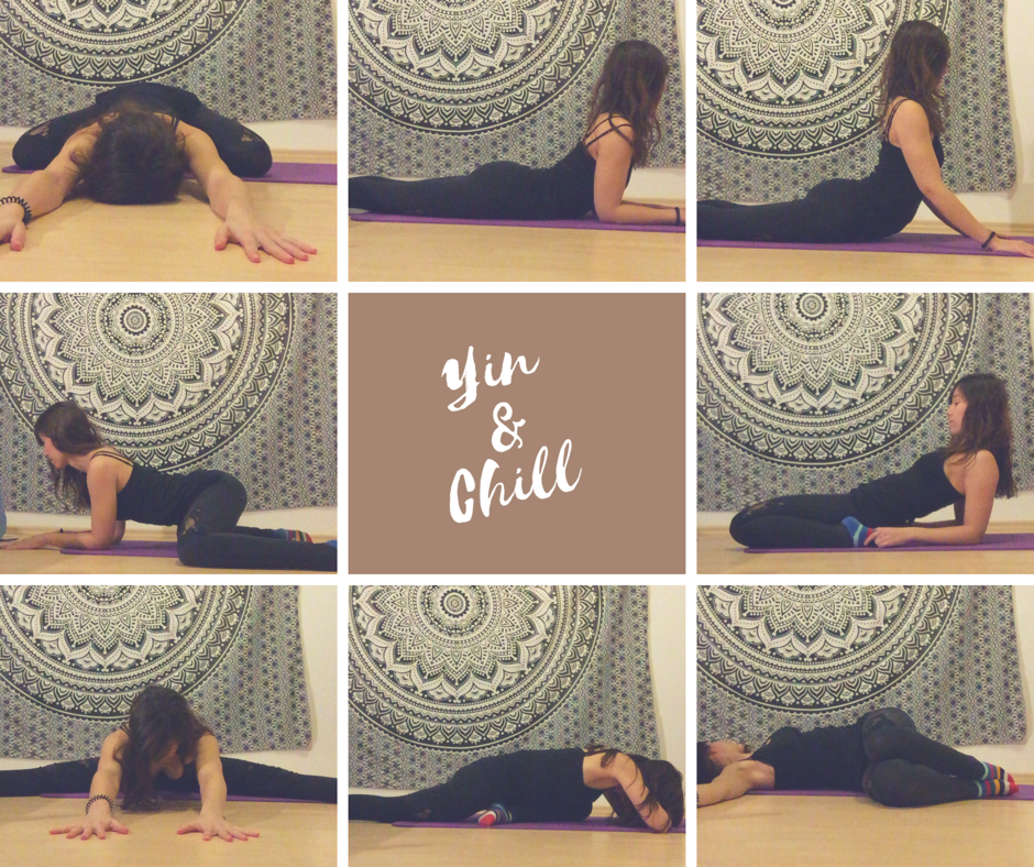 Yin Yoga Chill out Sequenz