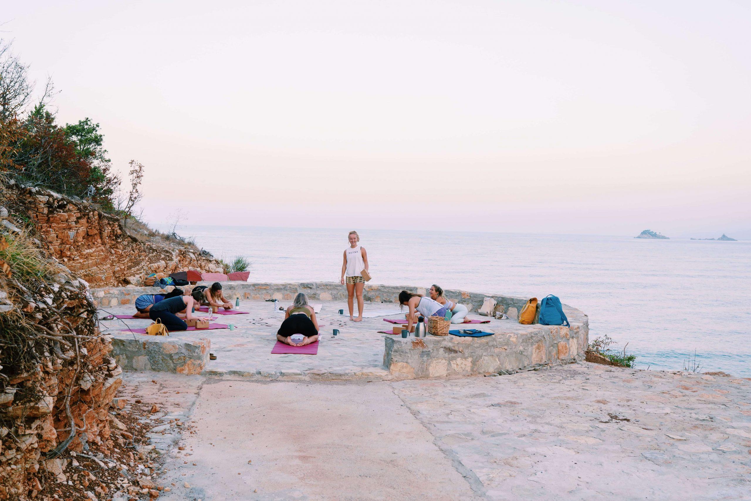 Beach Yoga Montenegro
