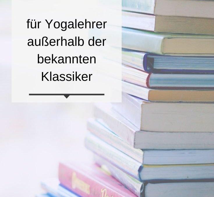 10 Yogabücher außerhalb der bekannten Klassiker